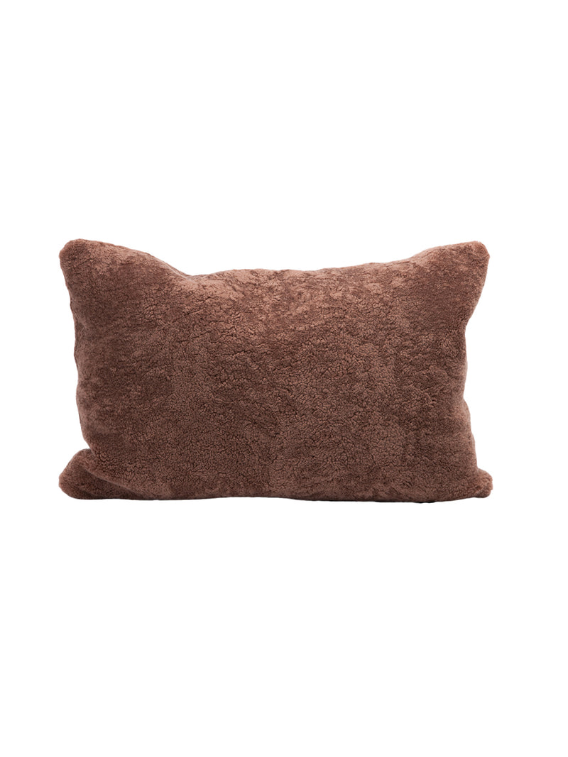 MDV Bouclette Pillow in Clay