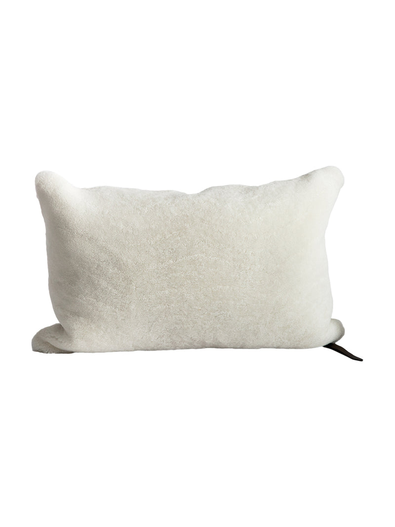 MDV Bouclette Pillow in White