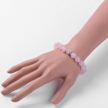 Load image into Gallery viewer, Pink Natural Gemstone bracelets