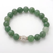 Load image into Gallery viewer, Pink and green Natural Gemstone bracelets