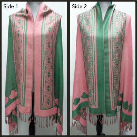 Sorority REVERSIBLE PASHMINA SCARF