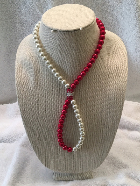 Sterling Crystal and Pearl Necklaces