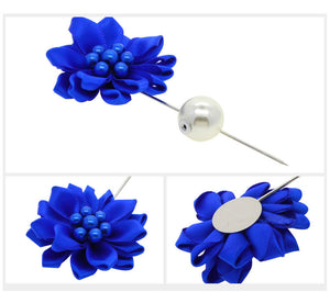 Flower Lapel Pins.