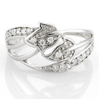 Double Ivy Ring