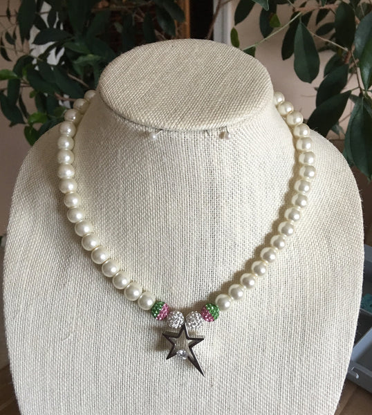 Sylvia's Star Necklace