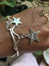 Load image into Gallery viewer, Sterling Silver Star Bracelet