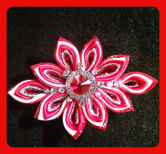 Handmade Delta Brooches and Corsages