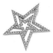 Load image into Gallery viewer, Amazing Silver Star Pendant