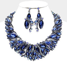 Load image into Gallery viewer, Crystal Necklace Set