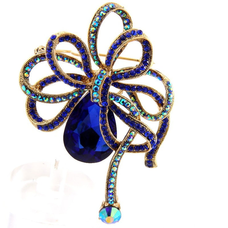 Pretty Blue Brooch