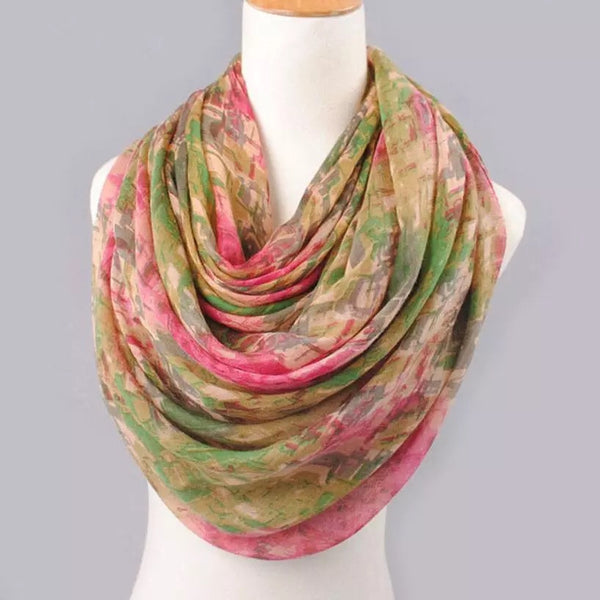 Multi Colored Scarf