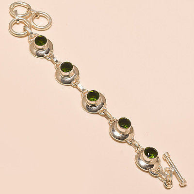 Anita's Peridot and Sterling