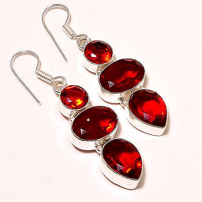 Medlinda's Mozambique Garnet Earrings