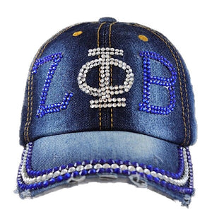 Zeta Denim Bling Hat