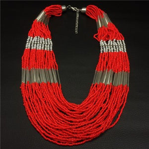 Pure Red Seed Bead