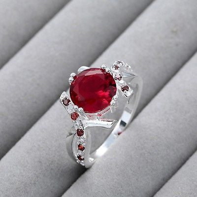 Medlinda's Garnet Beautiful Ring
