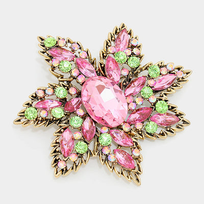 Star Flower Brooch
