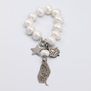 Silver Star Ivy and Pearls Classic