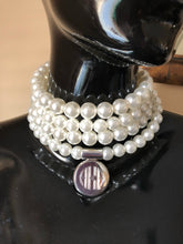 Load image into Gallery viewer, Pearls and Sterling Wrap