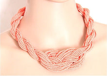 Load image into Gallery viewer, Handmade Bohemian Style Weave Necklace