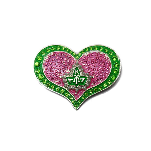 Heart Ivy Pin