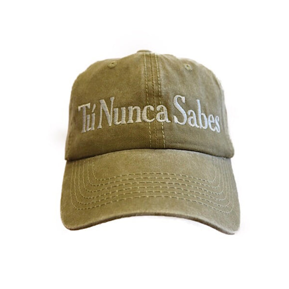 Khaki You Never Know Hat