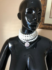 Pearls and Sterling Wrap