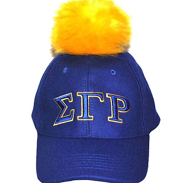 Yellow SGRho Pom Hat