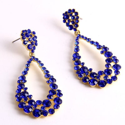 Pretty Royal Earrings