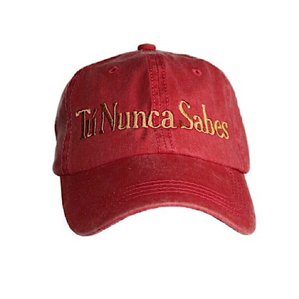 Red You Never Know Hat