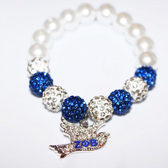 Blinging Dove Bracelet