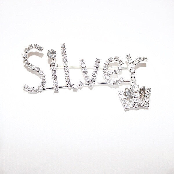 Silver Pin Crown