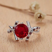 Load image into Gallery viewer, Medlinda's Garnet Beautiful Ring