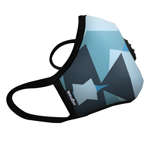 VOGMASK N99CV AIR FILTER MASK BLUE CAMO Large