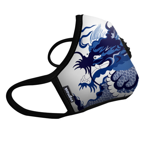 Vogmask N99CV Air filter Mask Blue Dragon Large