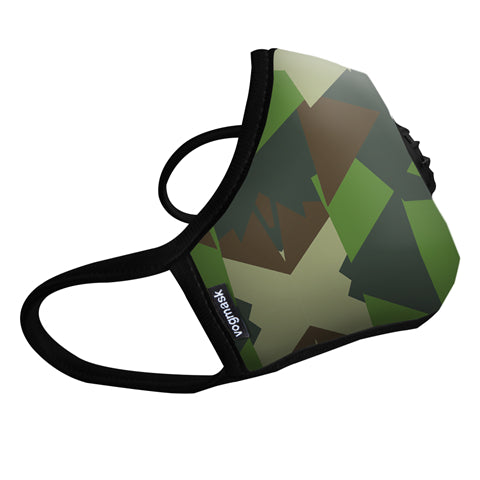 VOGMASK N99CV AIR FILTER MASK GREEN CAMO Large