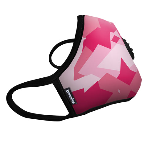 VOGMASK N99CV AIR FILTER MASK PINK CAMO
