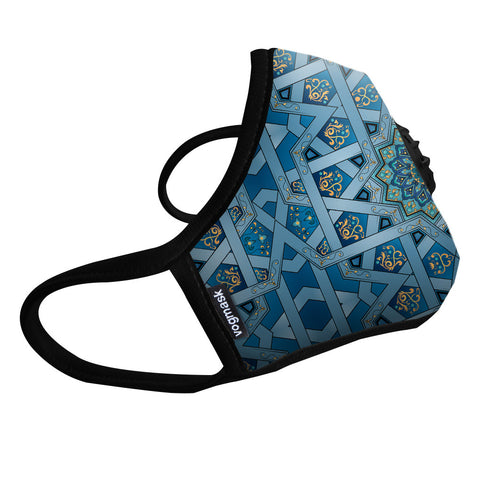 Vogmask N99CV Air filter Mask TurqChakra