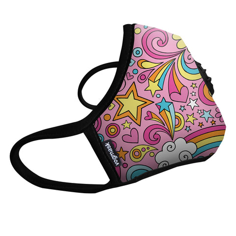Vogmask N99CV Air filter Mask Rainbows Medium
