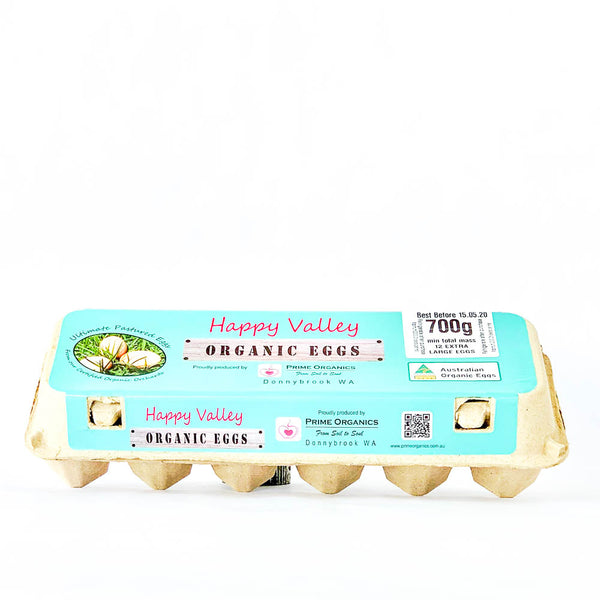 Happy Valley Eggs Dozen 700g