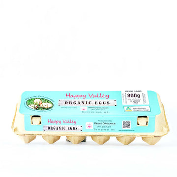 Happy Valley Eggs Dozen 800g
