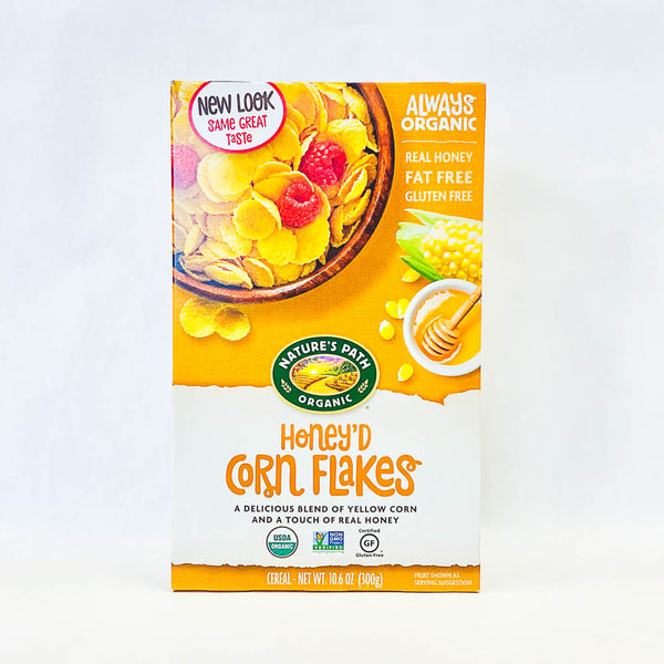 Natures Path Corn Flakes Honey 375g
