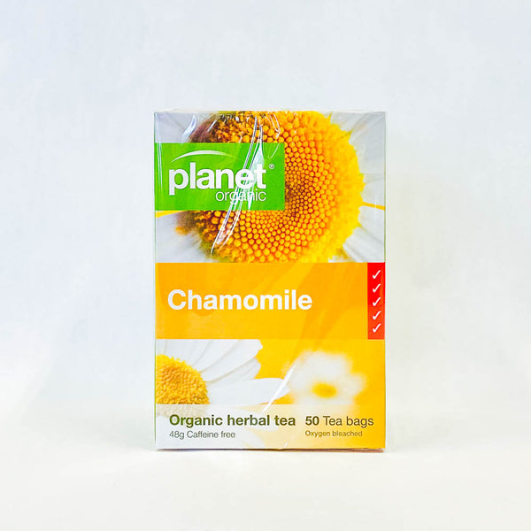 Planet Tea Chamomile 50 Bags