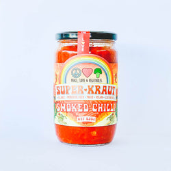 Peace Love & Vegetables Smoked Chilli SuperKraut 635g