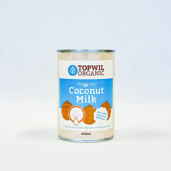 TopWil Coconut Milk Can 400ml