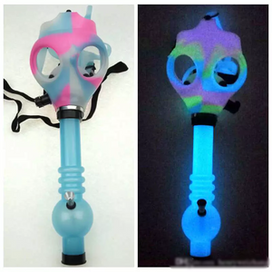 Glow in the Dark Bong Mask