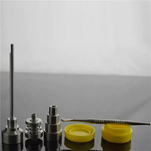 Bong Tool Set Universal 10/14/18mm Domeless Titanium Nail/Carb Cap
