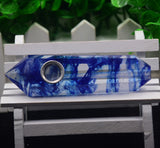 CLEAR WATER NATURAL HEALING CRYSTAL PIPE
