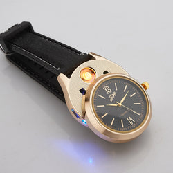 BLACK AND GOLD SPARK WATCH