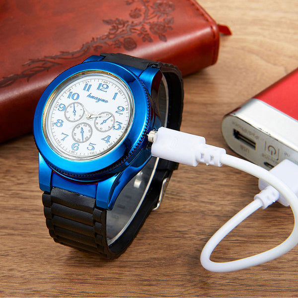 EMERALD BLUE SPARK WATCH